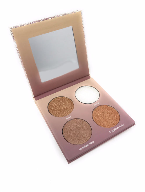 The Highlight Of My Life Palette by Miinachi Cosmetics Pigmented Glow Shimmer Highlighter Makeup
