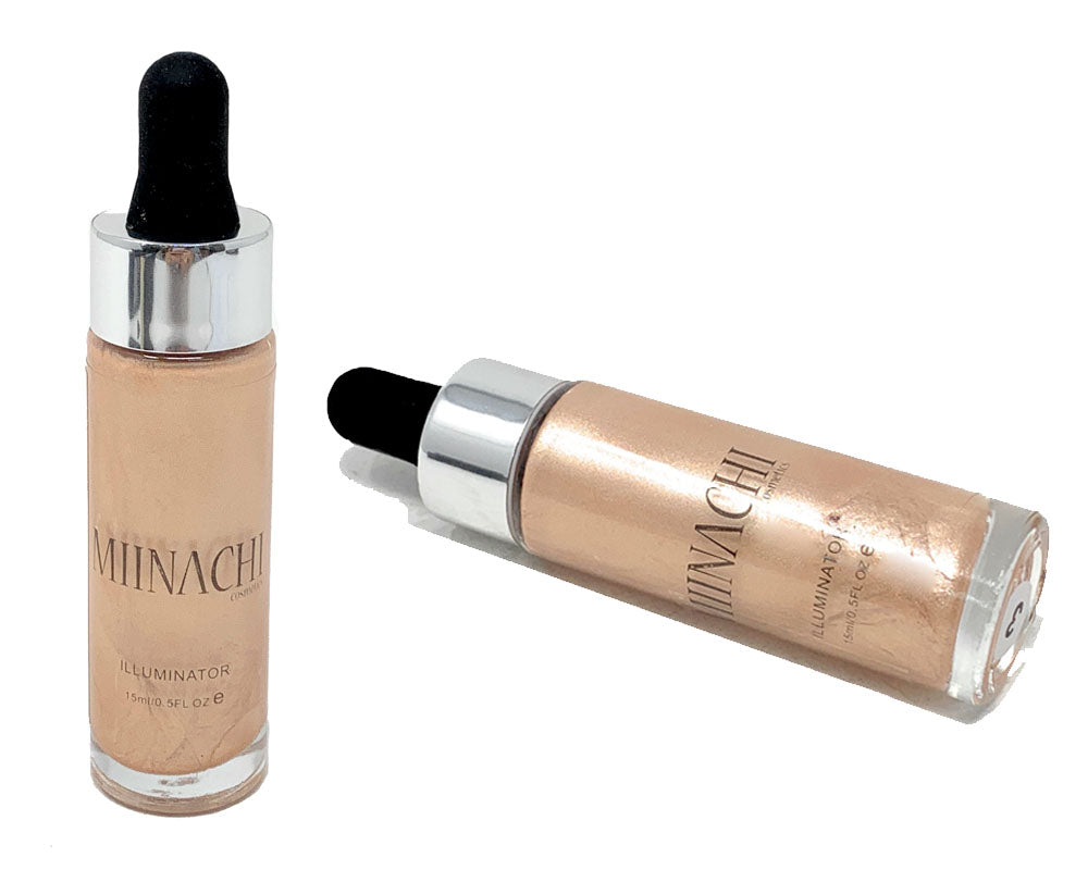 Liquid Illuminator Highlighter Smooth Creamy In The Shade 3 Glow Shine Mixer Cruelty Free Makeup