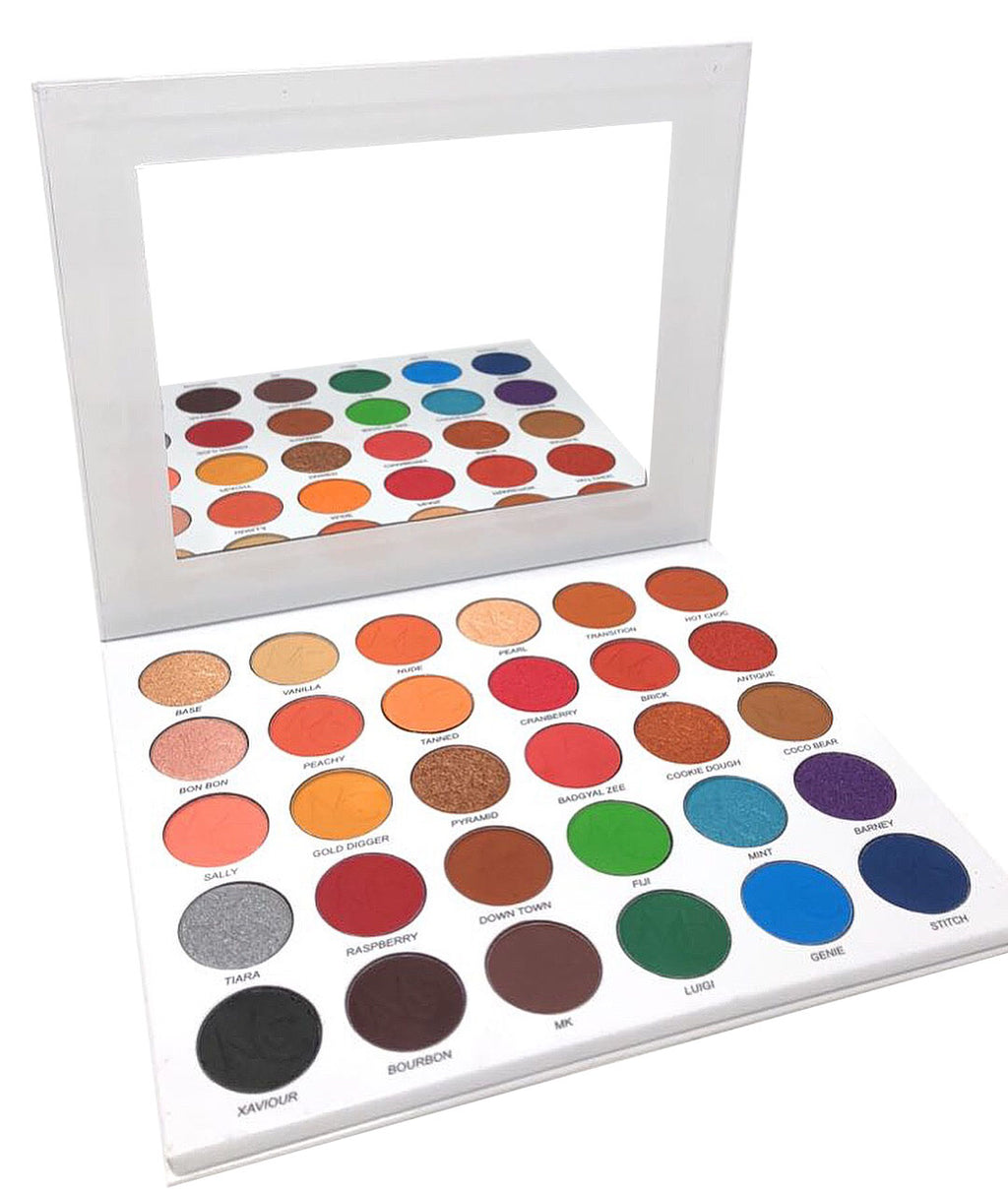The Ultimate Miinachi Matte and Shimmer Eyeshadow Palette Pigmented 30 Shades Colours