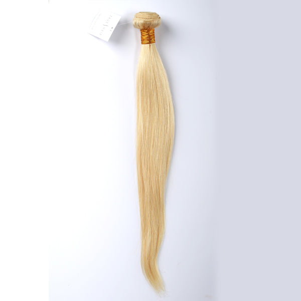Brazilian Platinum Blonde Straight Hair - Silver Collection Plus 9A