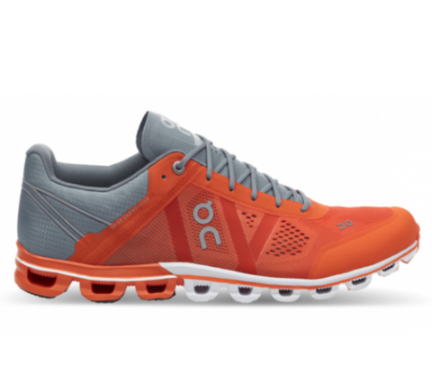 Cloudflow men Orange & Glacier