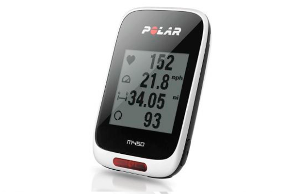 Polar M450 bike computer with HR monitor