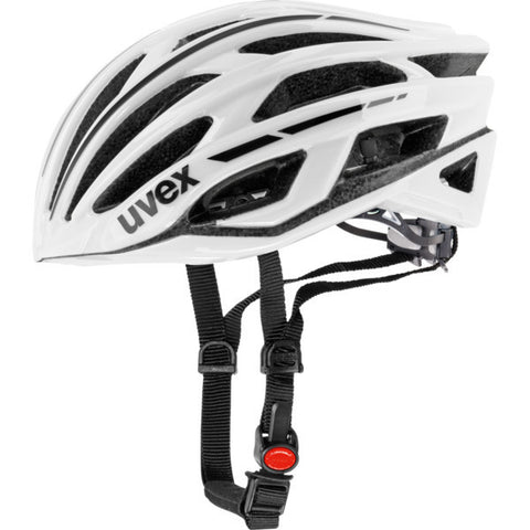 uvex race 5 white