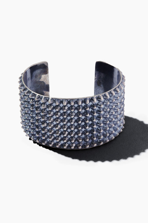 Silver Clash Spike Cuff - Studio C