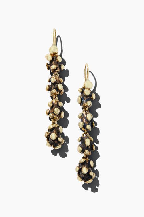 Spore Berry 4 Drop Earrings - Studio C