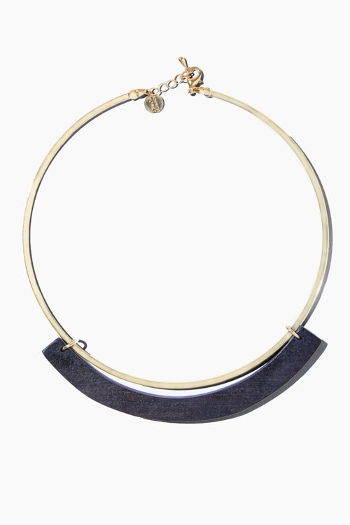 The Ebony Collar Necklace - Studio C