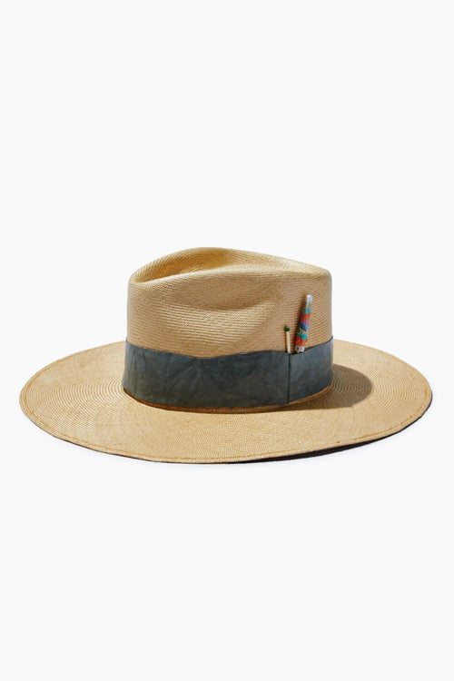 Natural Straw Hat - Studio C