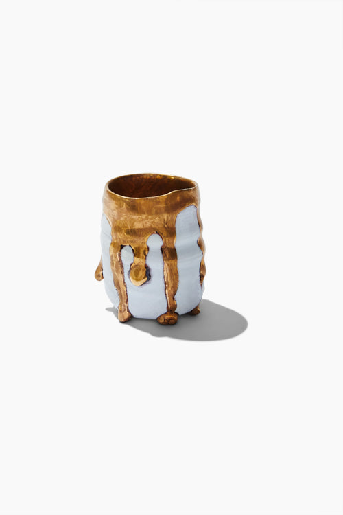 Gold Drip Shot Glass - Studio C