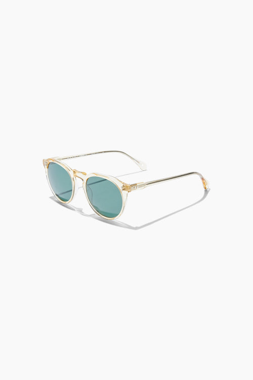 Remmy 52 - Champagne Crystal / Green Polarized