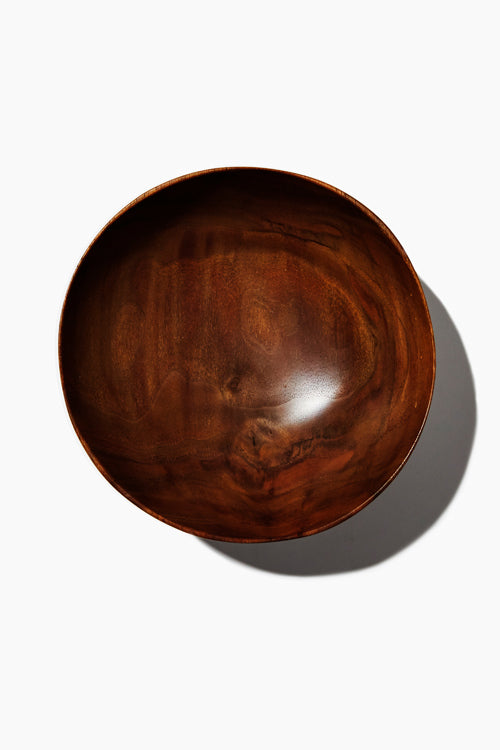 Nomi Company Hand Carved Walnut Bowl - Studio C