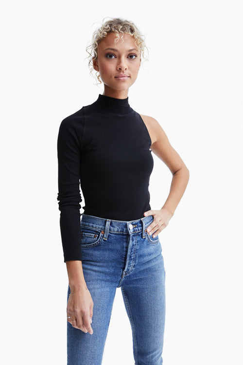 One Sleeve Turtleneck - Studio C