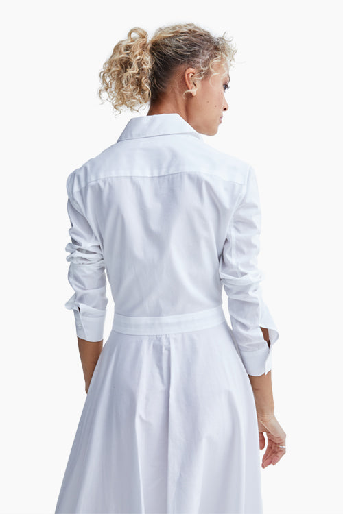 Apron Wrap Shirtdress - Studio C