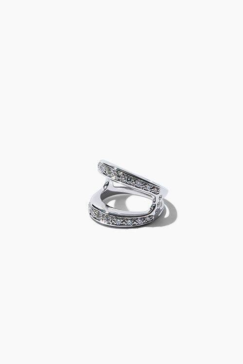 Masque Ring With Diamonds - Studio C