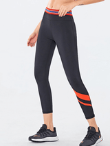 Women's Contrast Color Yoga Leggings