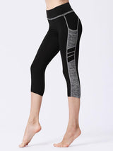 High Waist Sports Leggings with Pockets 25""