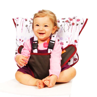 Pocket Full of Posies Travel Highchair