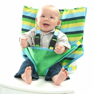 Seaside Stripe Travel Highchair