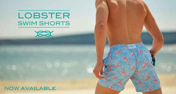Lobster Swim Shorts - Now Available