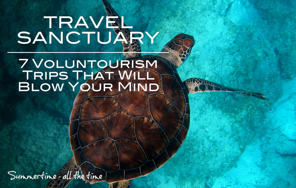 7 Voluntourism Trips That Will Blow Your Mind