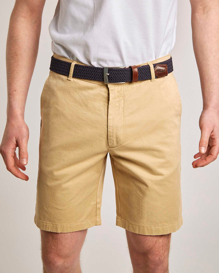 Camel Organic Cotton Shorts