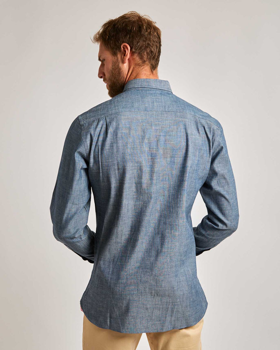 Keystone Chambray Button-Down Shirt