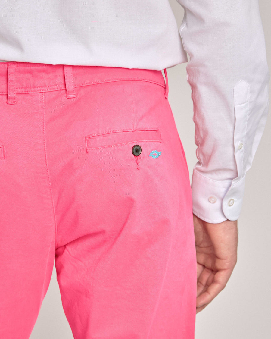 Coral Organic Cotton Chino