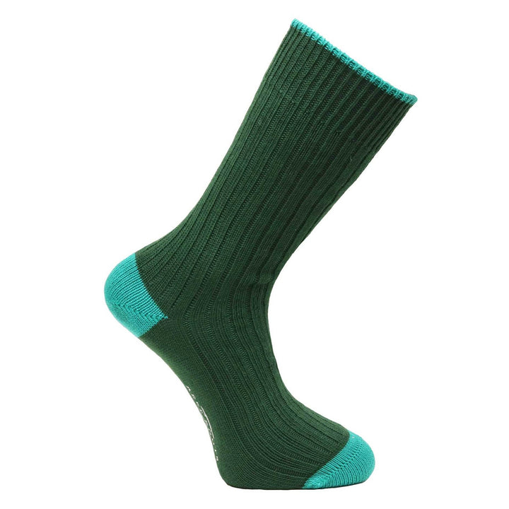 Conifer Green Socks - Chunky
