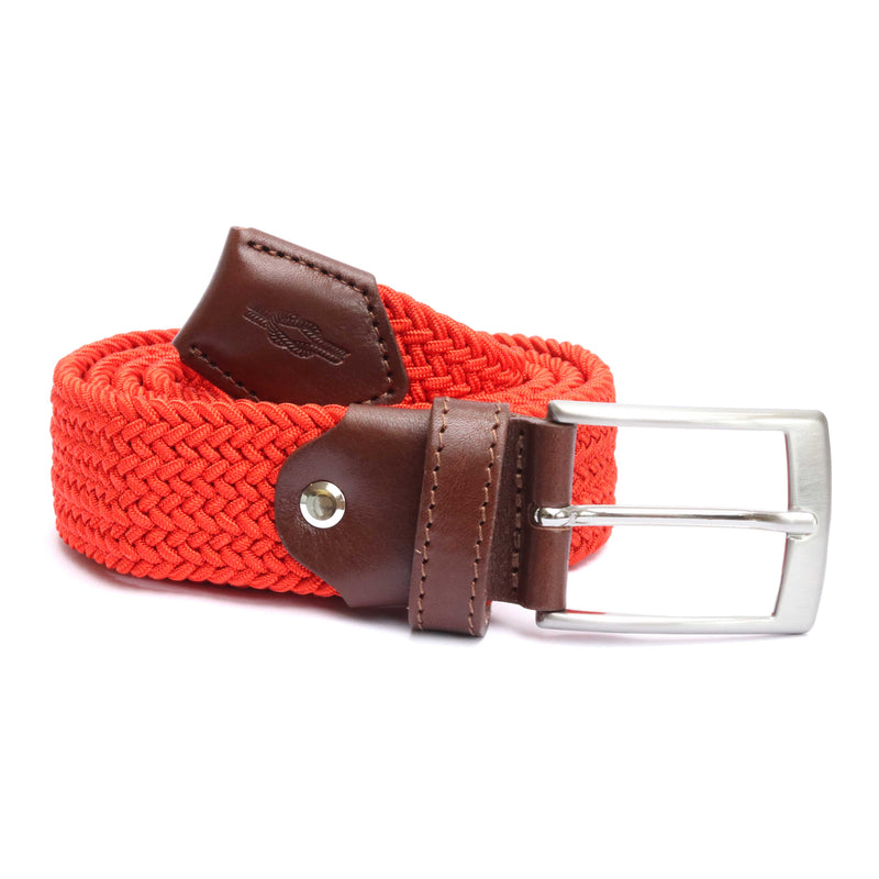 Coral Woven Elasticated Belt