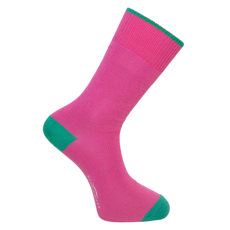 Dark Pink Socks - Lightweight