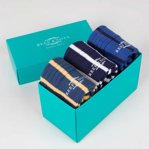 Sock Gift Box - Deep Blue