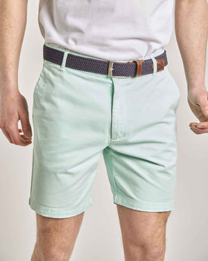 "Green Organic Cotton Shorts (7"" leg)"