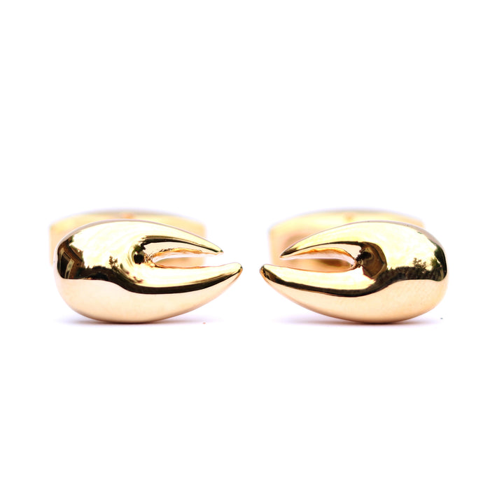 Lobster Claw Cufflinks - Gold