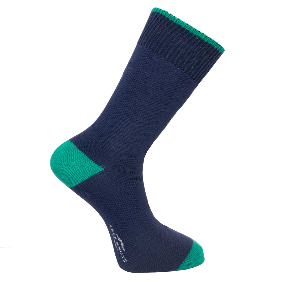 Marine Blue Socks - Lightweight