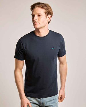 Navy Organic Cotton T-Shirt
