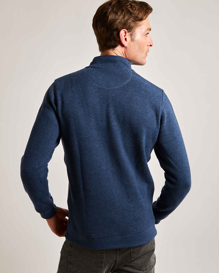 Ocean Blue Quarter Zip