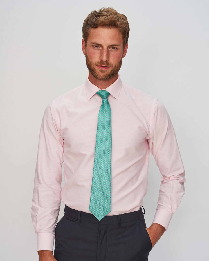 Pink Oxford Shirt - Traditional Collar (SALE)