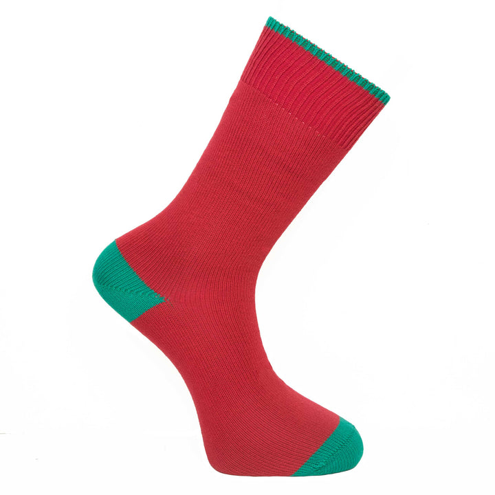 Redcurrant Red Socks - Lightweight