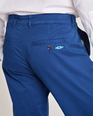 Royal Blue Organic Cotton Chino