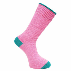 Shocking Pink Socks - Chunky