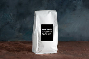 abonament cafea single origin