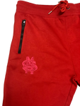 NO-EXCUSES TRACK SUITS - RED