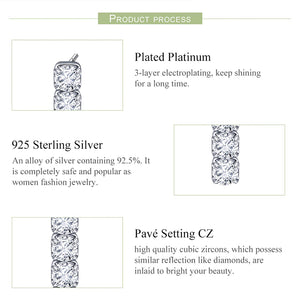 AVRIL 925 Sterling Silver Earrings