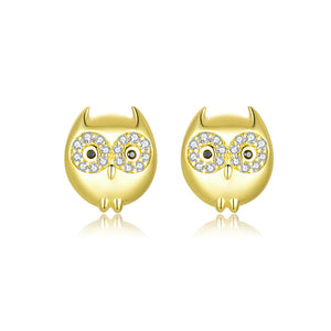 HIBOU 925 Sterling Silver Earrings