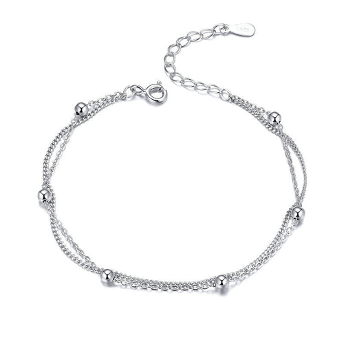 LITTLE BEADS 925 Sterling Silver Bracelet