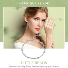Load image into Gallery viewer, LITTLE BEADS 925 Sterling Silver Bracelet