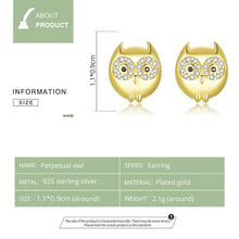 Load image into Gallery viewer, HIBOU 925 Sterling Silver Earrings