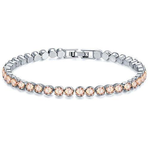 CANCER Stainless Steel Bracelet Champagne
