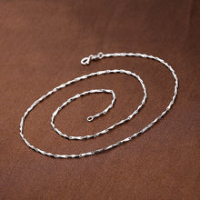Load image into Gallery viewer, RENAISSANCE 925 Sterling Silver Chain