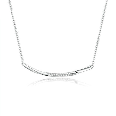 SMILE 925 Sterling Silver Necklace