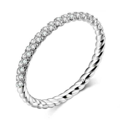 TWIST 925 Sterling Silver Ring